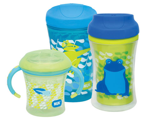 Sippy cups nuk
