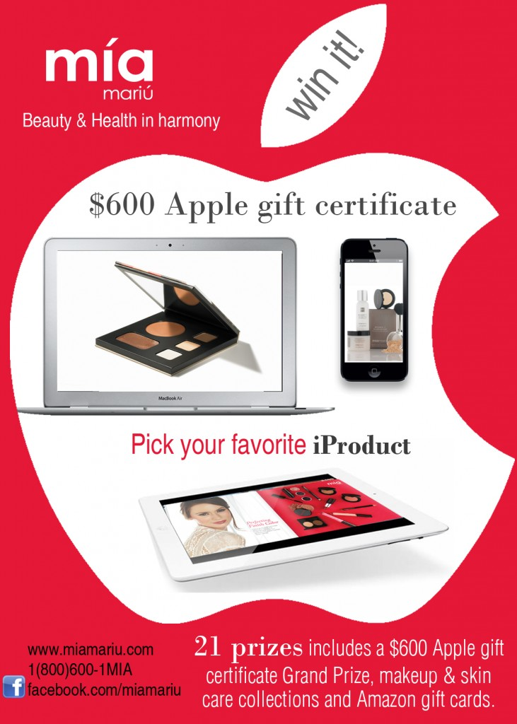Mia Mariu 600 Apple Store Gift Card Giveaway Motherhood Defined