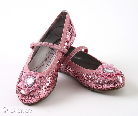 Belle Beauty Disney Princess Girl Sparkle Shoes | $14.99 | The