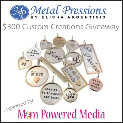 Metal Pressions Giveaway