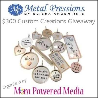 Metal Pressions Giveaway