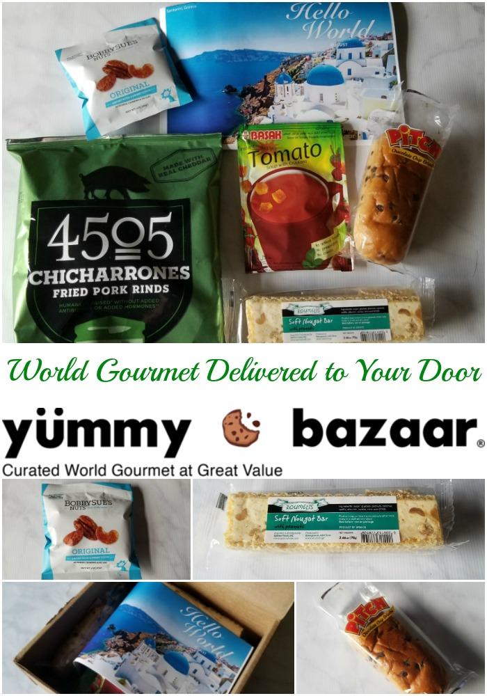 World Gourmet Delivered to Your Door from Yummy Bazaar
