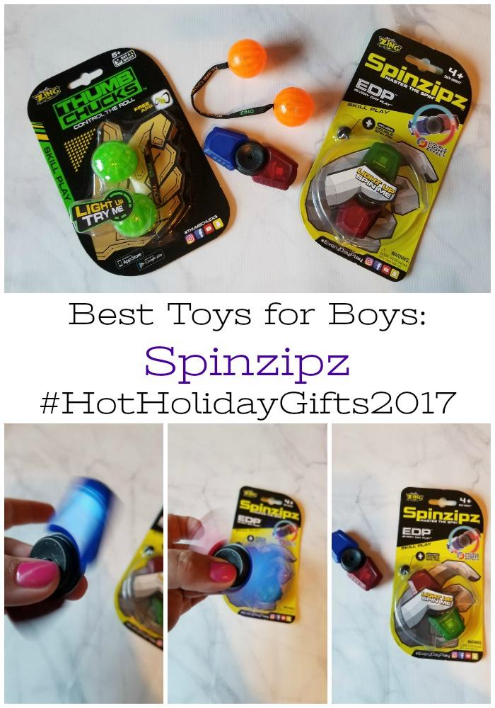 Best Toys for Boys: Spinzipz #HotHolidayGifts2017