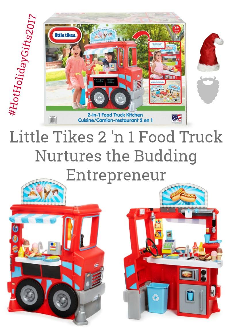 Little Tikes 2 'n 1 Food Truck Nurtures the Budding Entrepreneur