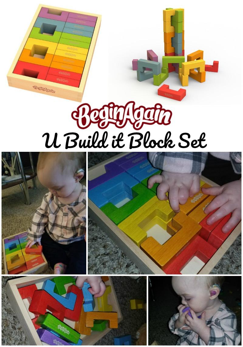 BeginAgain U Build it Block Set $HotHolidayGifts2017