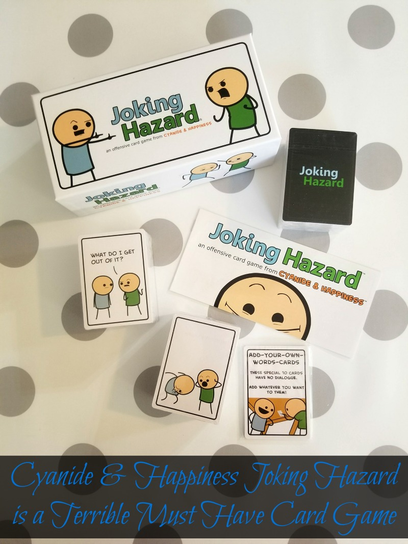 Cyanide & Happiness Joking Hazard is a Terrible Must Have Card Game #HotHolidayGifts2017