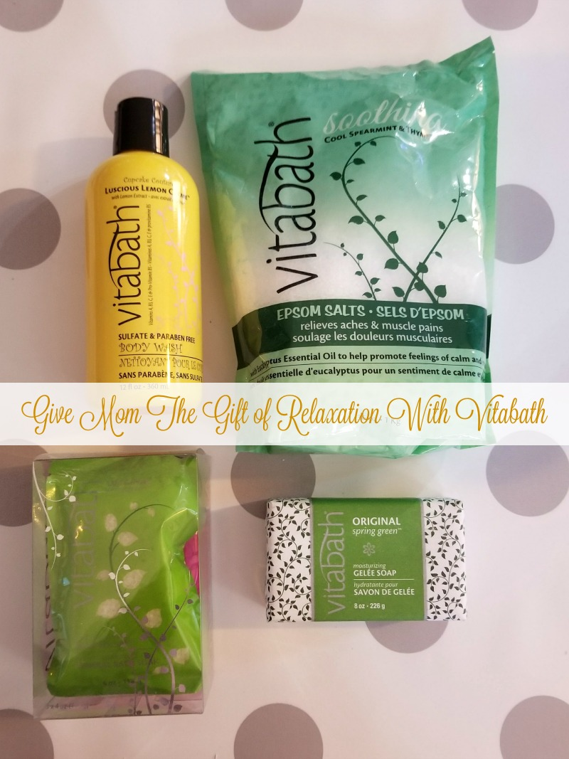Give Mom The Gift of Relaxation With Vitabath #HotHolidayGifts2017