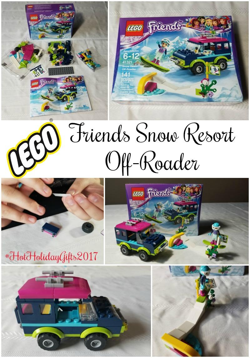 LEGOFriends Snow Resort Off-Roader #HotHolidayGifts2017