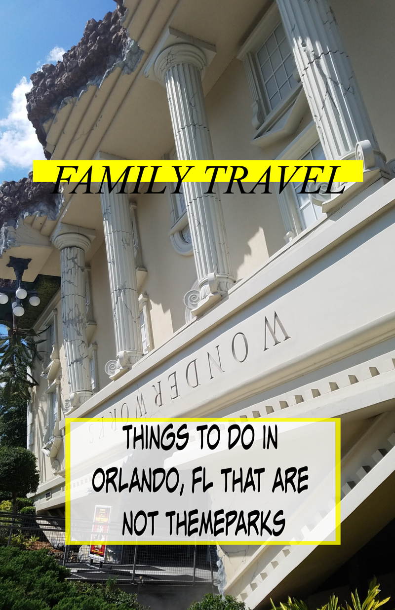 Things to Do in Orlando, FL that are not Themeparks