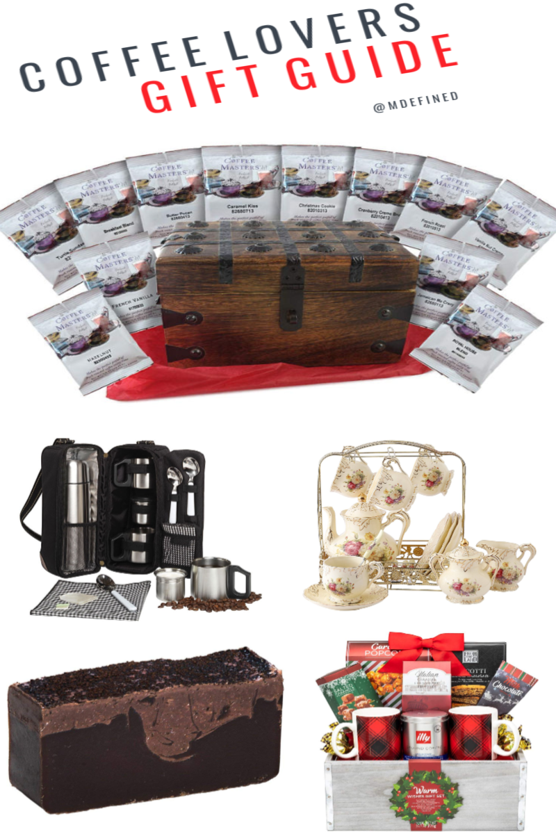 Top Holiday Finds: Coffee Lovers Gift Guide #HolidayGuide2017