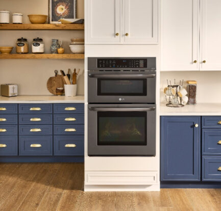 LG Combination Double Wall Oven Offers Cooking Flexibility & Convenience