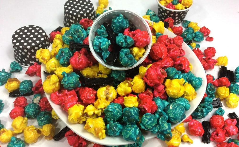 Nightmare Before Christmas Sally Candy Corn Popcorn