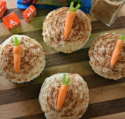 Easy Rips Carrot Cupcake Recipe for Easter