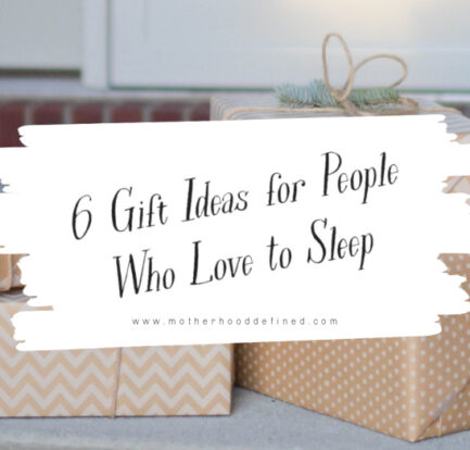 6 Gift Ideas for People Who Love to Sleep