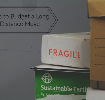 Tips to Budget a Long Distance Move