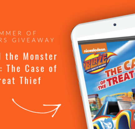 Blaze and the Monster Machines: The Case of the Treat Thief Giveaway