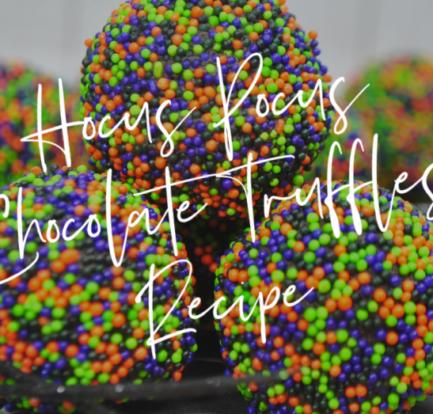 HocusPocusChocolateTruffles Recipe